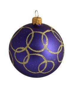 Oreol Glass Christmas Ball - Glass Christmas Ornaments and Tree Decorations