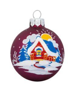 Sunny Glass Christmas Ball - Glass Christmas Ornaments
