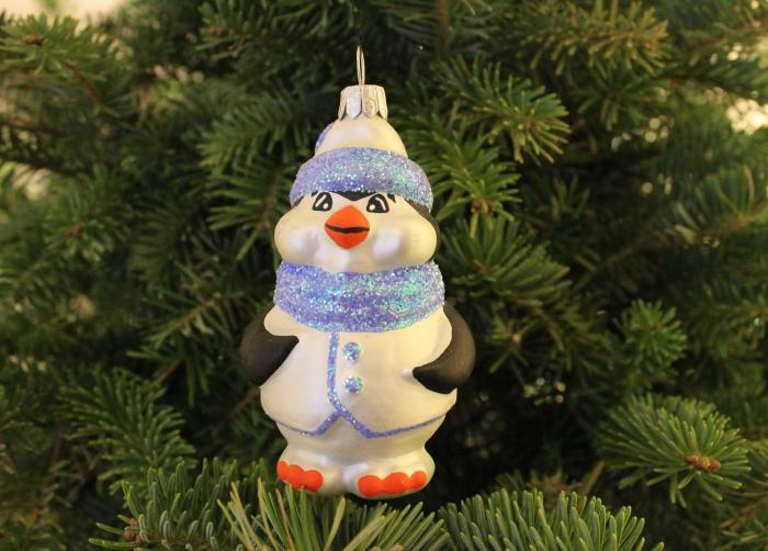 penguine christmas ornament
